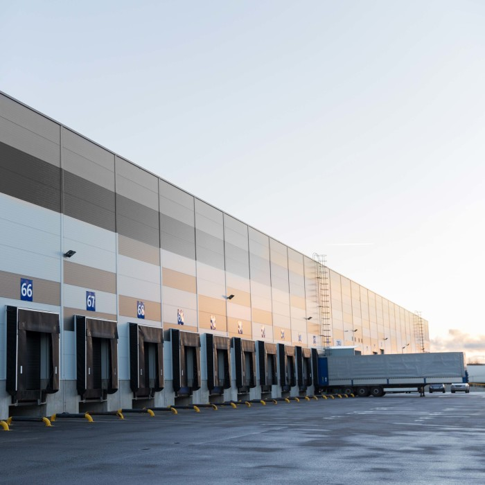 Oysho Tordera logistic warehouse