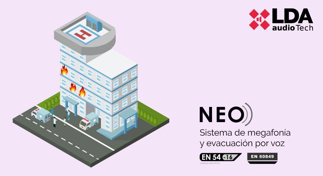 Evacuación hospital por incendio