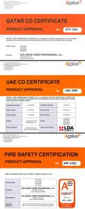 LDA NEO sistema megafonía y evacuación certificado