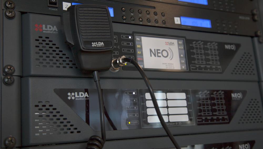 Certificación EN 54-16 LDA NEO sistema megafonía
