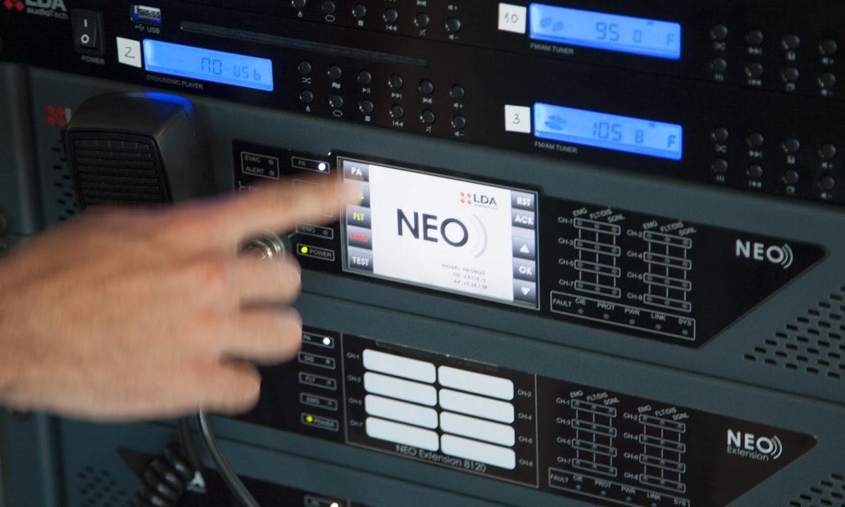 LDA system demo