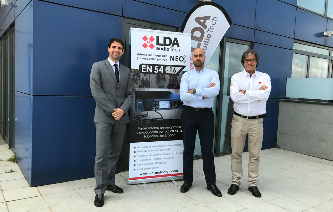 Work team at LDA Madrid