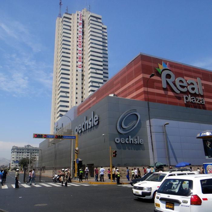 Centro comercial Real Plaza LDA