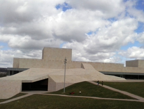 Conference and Exhibitions Centre Ávila Lienzo Norte