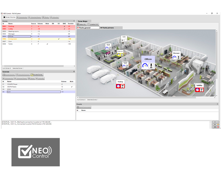 NEO_control_software_screenshot