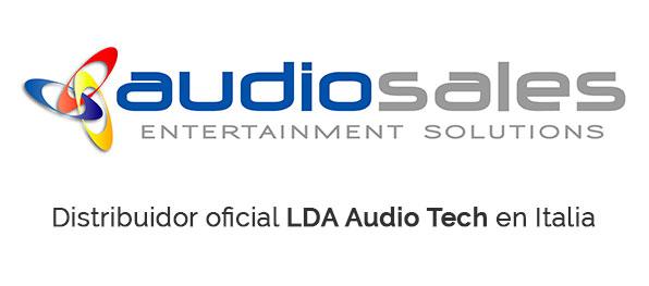 LDA distributor Italy Audiosales