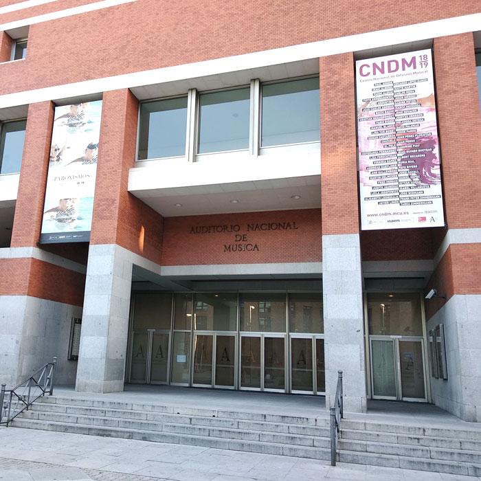 National Auditorium PA/VA system LDA