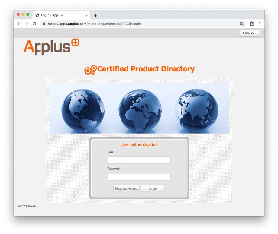 login-applus-certificates