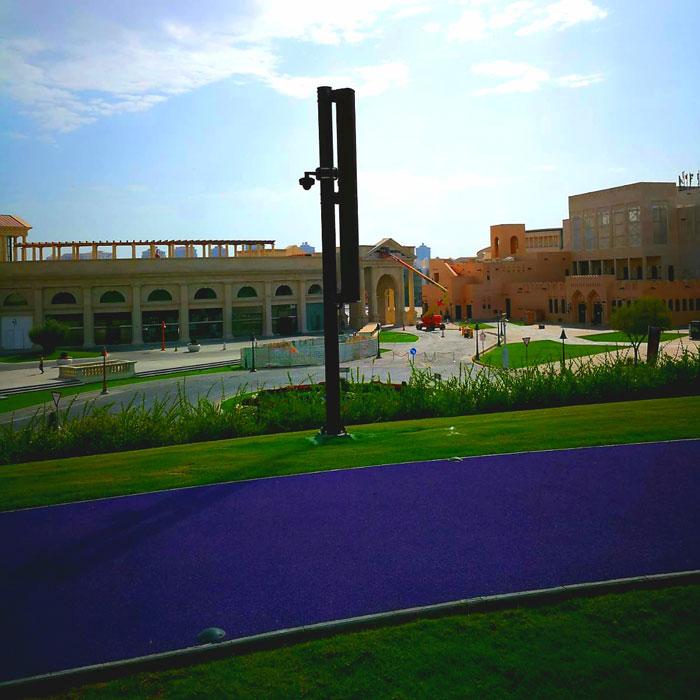 Katara Hills Gardens LDA Audio Tech