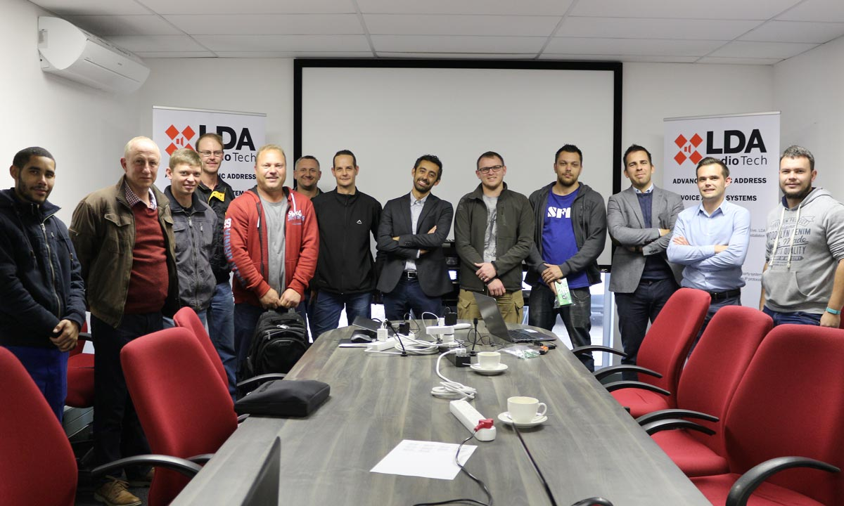 Training LDA Audio Tech South Africa Wild & Marr