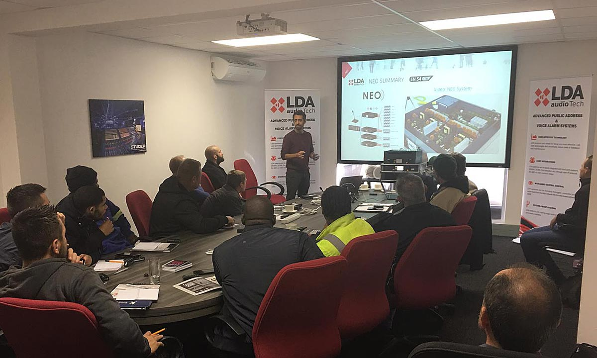 Training LDA Audio Tech South Africa Wild & Marr