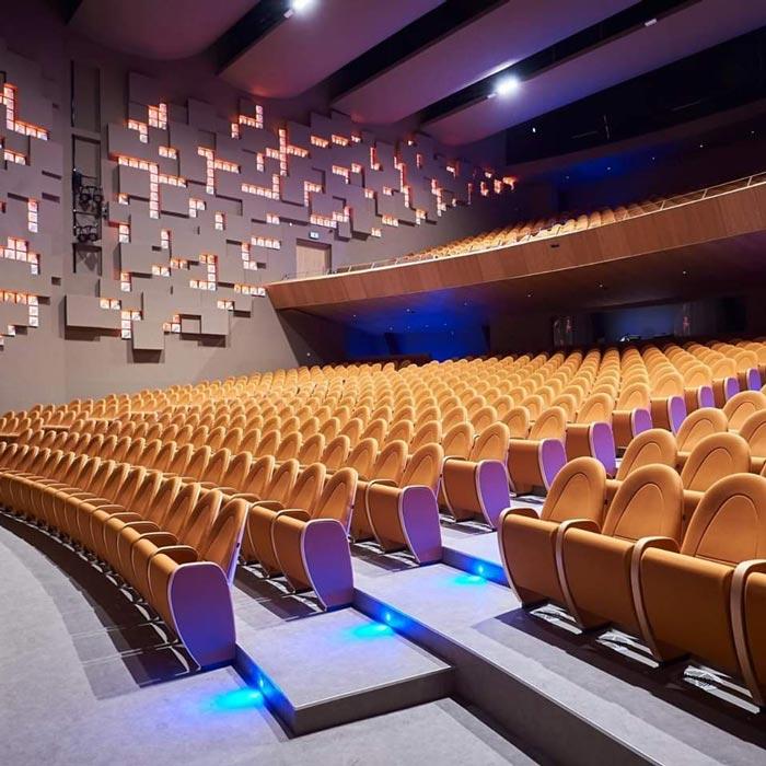 Nicosia Municipal Theatre LDA Audio Tech