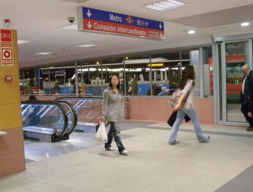Intercambiador transportes Plaza Castilla LDA Audio Tech