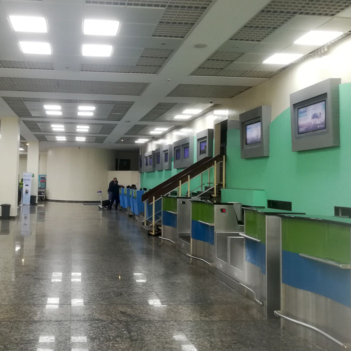 Kigali International Airport LDA Audio Tech