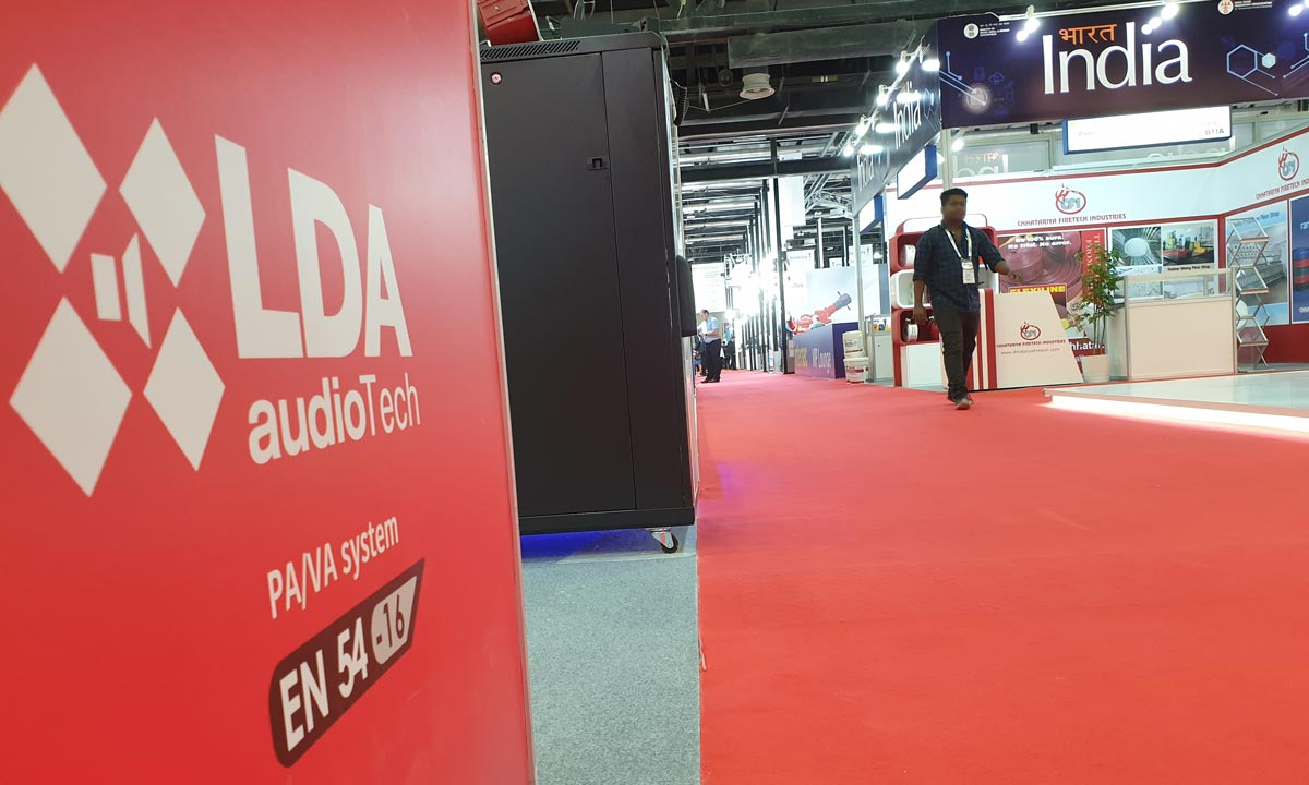 Intersec 2020 LDA Audio Tech