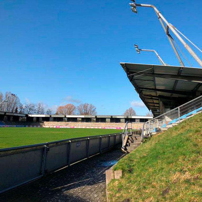 Jadestadion Wilhelmshaven LDA Audio Tech