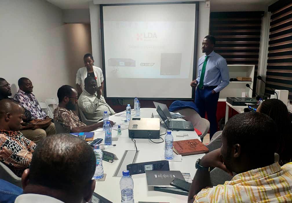 Training Ghana EDRIC LDA Audio Tech